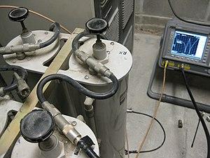 Amateur radio repeater - Coaxial cavity RF filter at 2 meter repeater