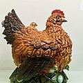 Tureen with ladle -Chicken and chicks- (Undated- - Rafael Bordalo Pinheiro (1846 - 1905) (46572473255).jpg