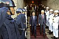Turkish Minister of National Defense Ismet Yilmaz, center left, escorts U.S. Secretary of Defense Chuck Hagel from the Ministry of National Defense in Ankara, Turkey, after a meeting between the two leaders 140908-D-NI589-916.jpg
