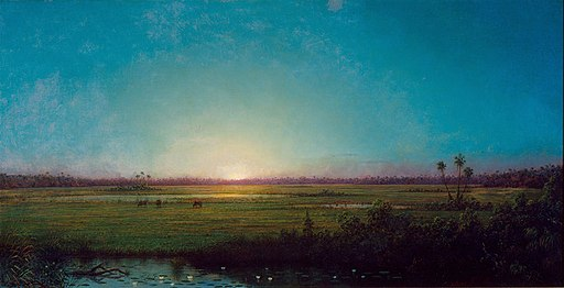 Twilight by Martin Johnson Heade, c. 1886, High Museum of Art