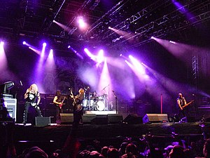 Twisted Sister - Twisted Sister performing at Norway Rock Festival in 2010