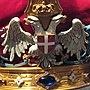 Two-Headed Eagle from Karađorđević crown.jpg
