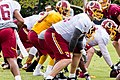Tyler Polumbus and RG3 2014 Redskins training camp.jpg