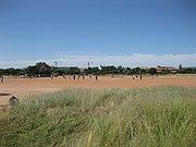 University of Botswana intramural football game