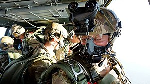 Pathfinder Platoon - UK Pathfinders conducting freefall training from a blackhawk