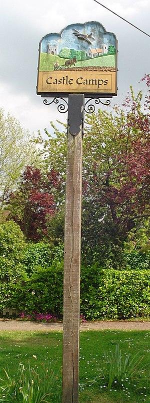 Castle Camps, Cambridgeshire - Signpost in Castle Camps