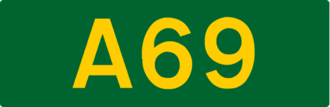 European route E05 - Image: UK road A69