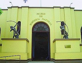 Entrance to Museo de Historia Natural