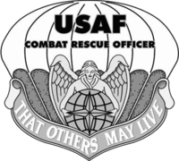 USAF Combat Rescue Officer Flash