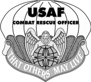 United States Air Force Combat Rescue Officer US Air Force officer specializing in combat search and rescue