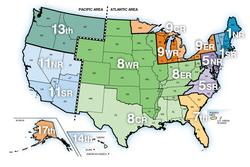United States Coast Guard Auxiliary Wikipedia - Us coast guard stations map