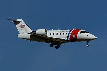 English: The U.S. Coast Guard VC-143 Challenge...