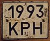 USSR, UKRAINIAN SSR, CRIMEA 1980 SERIES -BUS or TRUCK PLATE - Flickr - woody1778a.jpg