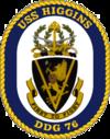 USS Higgins DDG-76 Crest.png
