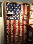 USS Liberty flag - National Cryptologic Museum - DSC07641.JPG