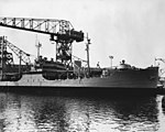USS Niobrara (AO-72) at the New York Naval Shipyard in 1951.jpg