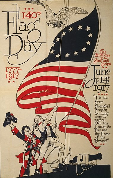 File:US Flag Day poster 1917.jpg