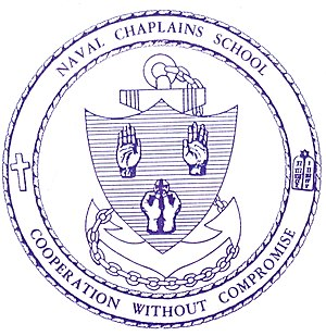 Non-color rendering, US Naval Chaplains School...