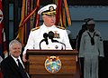US Navy 070326-N-4965F-016 Adm. Timothy J. Keating gives his remarks during an assumption of command ceremony for U.S. Pacific Command. Keating assumed command of U.S. Pacific Command from Lt. Gen. Daniel P. Leaf.jpg