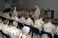 US Navy 071027-N-4171A-002 Chief of Naval Operations (CNO) Adm. Gary Roughhead conducts an all hands call with Sailors at the U.S. Embassy in Baghdad.jpg