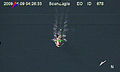 US Navy 090409-N-0000X-619 In a still frame from video taken by the Scan Eagle unmanned aerial vehicletaken by the Scan Eagle unmanned aerial vehicle, a 28-foot lifeboat from the U.S.-flagged container ship Maersk Alabama is s.jpg