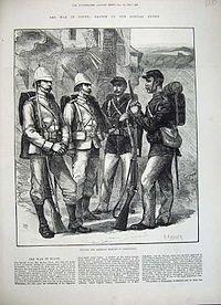 US and Royal Marines 1882 Egypt
