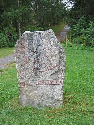 Lilla Vilunda runestones - Runestone U Fv1972;172.