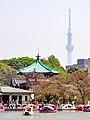 Ueno Park with Sky Tree (41620001491).jpg