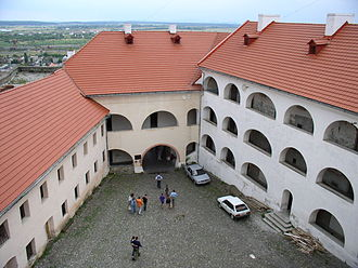 Mukachevo - Palanok Castle in Mukachevo