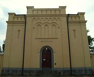 Umeå Old Prison - Image: Umeå gamla fängelse huvudbyggnad framsidan