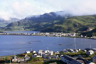 Unalaska Island - Image: Unalaska 1
