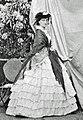 Undated photograph of Princess Maria Carolina Augusta Bourbon of the Two Sicilies, Duchess of Aumale (Musée Condé).jpg
