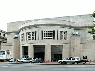 United States Holocaust Memorial Museum - 14th Street entrance of USHMM