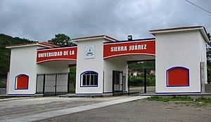 Ixtlán de Juárez - Image: Universidad de la Sierra Juarez en Oaxaca