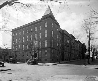 MedStar Georgetown University Hospital - Georgetown University Hospital building, ca. 1910s