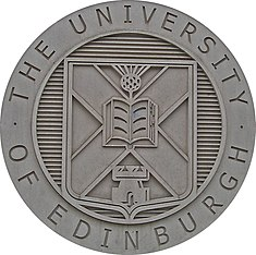University of Edinburgh coat of arms.JPG