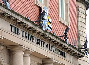 University of Liverpool Building.