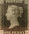 "Unused block of four ""Penny Black"" postage stamps of Queen Victoria MET SF2002 399 10 img2.jpg"