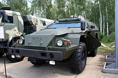 Upgraded KAMAZ-43269 Vistrel 1