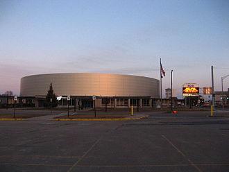 Adirondack Bank Center - Image: Utica Memorial Arena after renovation, 2016 02 07