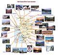 Uttara Kannada District Tourism Map.JPG
