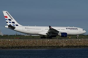 VH-SSA, Strategic Airlines Airbus A330, Sydney Airport.jpg