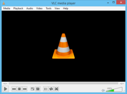 VLC Media Player main window in Windows 8.PNG