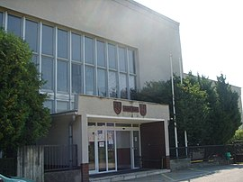 Valaliky municipal office.JPG