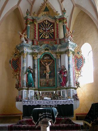 Valea Viilor fortified church - Altar