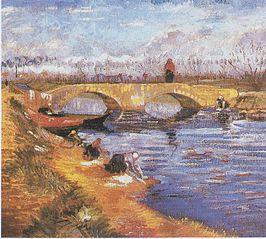 The Gleize Bridge over the Vigueirat Canal