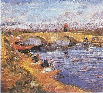 Pont de Gleize at Arles (The Gleize Bridge ove...
