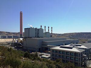 Vasilikos Power Station - Vasilikos Power Station in 2013