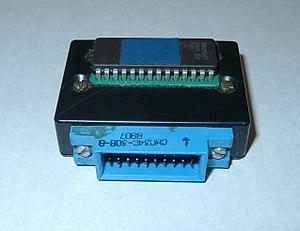 Vector-06C - Homemade external ROM cartridge