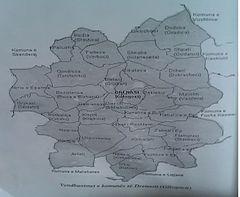 Vendbanimet e komunes se Drenasit